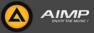 AIMP enjoy the music logo