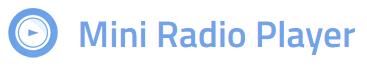mini-radio-player